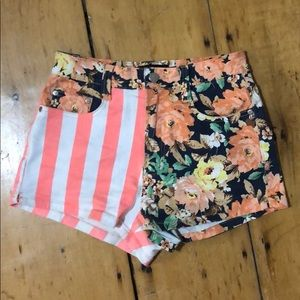 MINKPINK Flowers and Stripes